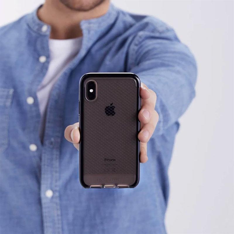 Tech21-Evo-Check-Case-for-iPhone-XS-Max-Smokey-Black-6
