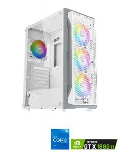 Xigmatek Gaming X Arctic RGB Mid Tower Gaming Pc - White.