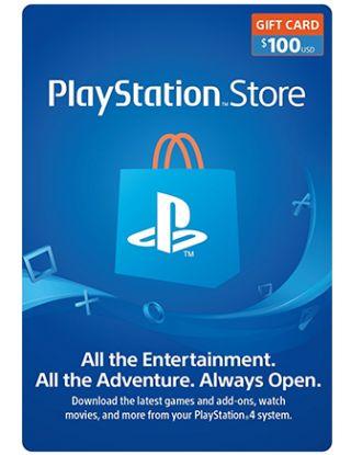 PSN Store Card $100 (U.S. Account)