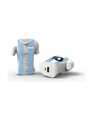 Moji Power World Cup T-Shirt 2600 mAh Powerbank - Argentina