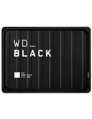 WD Black P10 Game Drive Portable External Hard Drive 2TB (PS4/Xbox/Pc/Mac) - Black