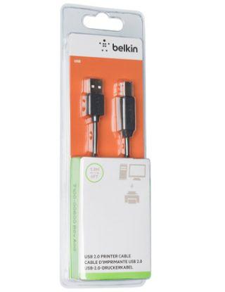 BELKIN USB 2.0 PREMIUM PRINTER CABLE 1.8M