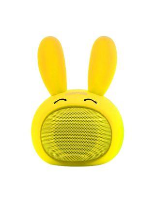 Promate Bunny Mini High Definition Wireless Bunny Speaker - Yellow