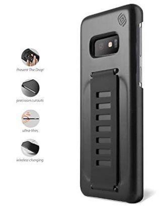 Grip2ü Samsung Galaxy S10e Snap On Enhanced Protection Slim Grip CASE5.8 -Charcoal