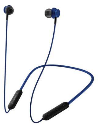 PROMATE BALI HIGH PERFORMANCE DYNAMIC NECKBAND WIRELESS EARPHONES - BLUE