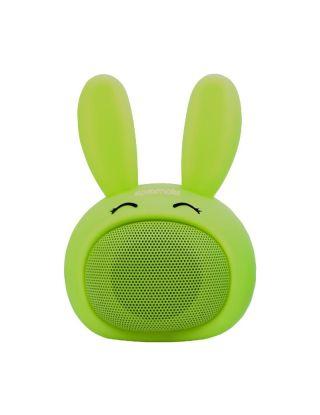 Promate Bunny Mini High Definition Wireless Bunny Speaker - Green