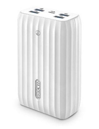 Zendure X6 USB-C Hub Portable Charger 20100mAh-WHITE