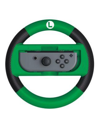 HORI Nintendo Switch Mario Kart 8 Deluxe Wheel (Luigi Version)