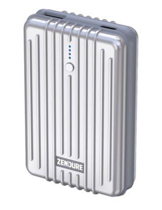 ZENDURE A3TC 10,000mAh USB Type-C Portable Charger (Silver)