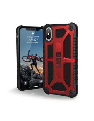 Case Urban Armor Gear MONARCH UAG Apple iPhone X - CRIMSON RED - IPHX-M-CR