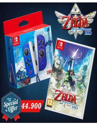 NS. Joy-Cons (L/R) The Legend of Zelda: Skyward Sword HD Edition With  NS: The Legend of Zelda: Skywards Sword HD 2in1 offer