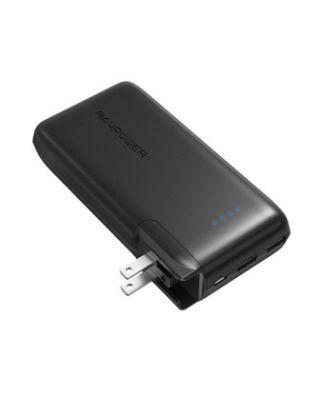 RAVPower / Power Bank / Savior 10000mAh AC Plug EU+UK iSmart-Black