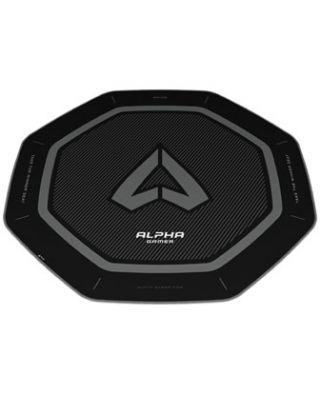 Alpha Gamer Octan Gaming Chair Floor Mat (120cm) - Black