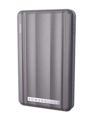POWEROLOGY PD POWER BANK 6000MAH - GREY