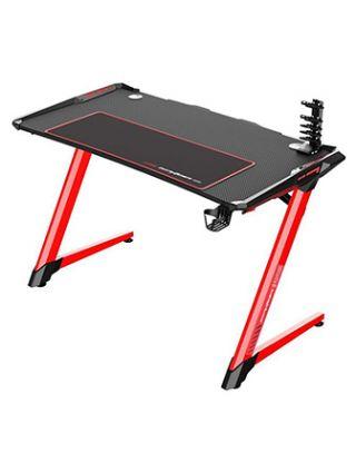 DXRACER E-SPORTS GAMING DESK- BLACK/RED