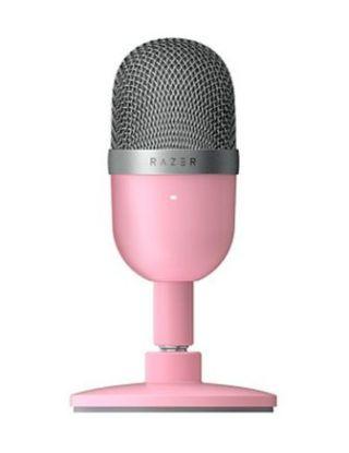 Razer Seiren Mini Ultra Compact Streaming Microphone -  Quartz Pink
