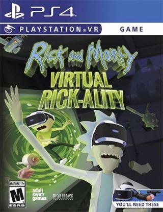 RICK AND MORTY VIRTUAL RICK-ALITY R1
