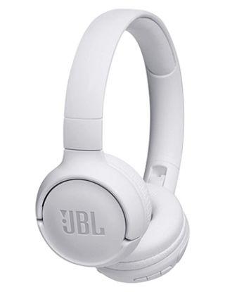 JBL TUNE500BT WIRELESS ON-EAR HEADPHONE WITH MIC - WHITE