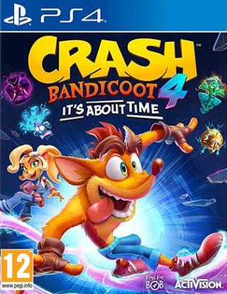PS4 - Crash Bandicoot 4: It's About Time R2 - Arabic version