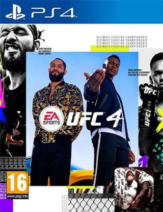 PS4 UFC 4 R2 ( arabic version )