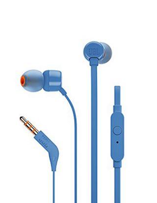 JBL TUNE110 IN-EAR HEADPHONE - BLUE