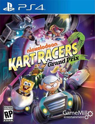PS4 NICKELODEON KART RACERS GRAND PRIX R1
