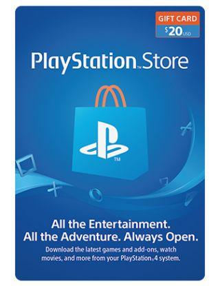 PSN Store Card $20 (U.S. Account)