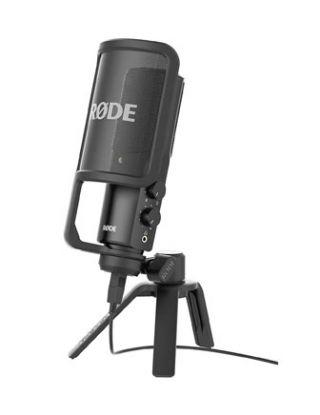 RODE NT-USB VERSATILE STUDIO - QUALITY USB MICROPHONE - BLACK
