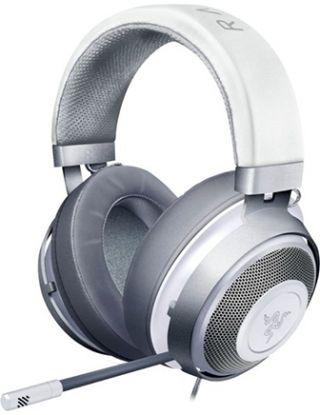 Razer - Kraken Wired Stereo Gaming Headset - Mercury White
