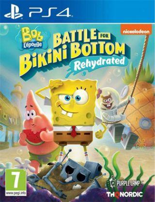 PS4 Spongebob Squarepants: Battle for Bikini Bottom - Rehydrated R2