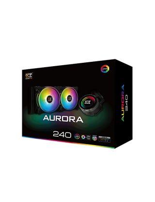 Xigmatek Aurora 240 AIO RGB Liquid Cooler - Black
