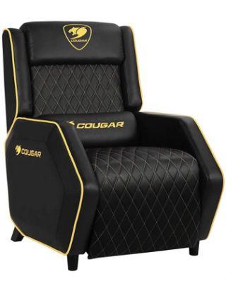 Cougar Ranger Royal Gaming Sofa -Gold /Black