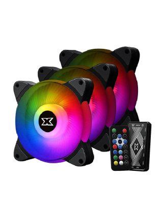 XIGMATEK Galaxy III Essential ARGB 3 Fans With MB Sync Controller