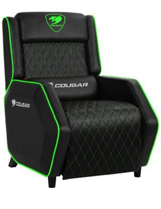 Cougar Ranger Gaming Sofa - Black/Green