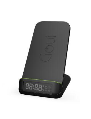 Goui BOT. Qi Ultra-Fast Wireless - Clock Stand 15W - Black