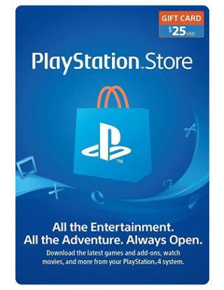 PSN Store Card $25(U.S. Account)