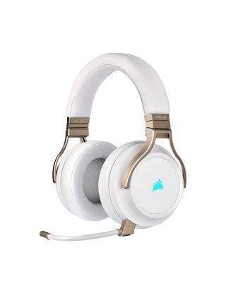 Corsair VIRTUOSO RGB Wireless Gaming Headset - Pearl