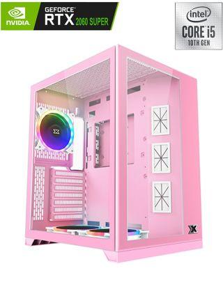Xigamatek Aquarius S Mid Tower Gaming Pc - Pink