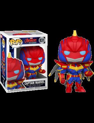 Funko Pop! Marvel: Marvel Mech Strike - Captain Marvel - 831