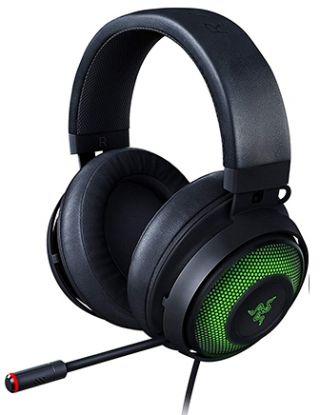 RAZER KRAKEN ULTIMATE RGB USB GAMING HEADSET WITH THX 7.1 SURROUND SOUND - BLACK