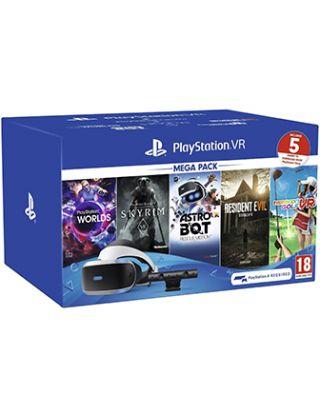 PS4 PLAYSTATION VR MEGA PACK (5 GAMES INCLUDES) R2