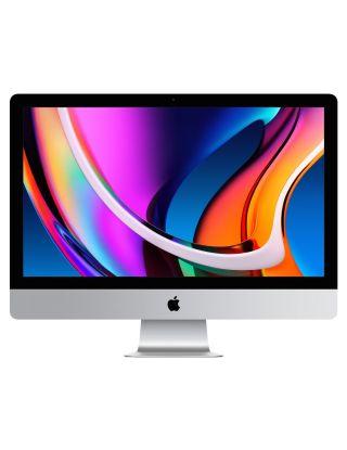 """Apple iMac 27"""" 5K (Mid-2020) Standard Glass, 6-Core i5 (10th Generation) 3.1/4.5 GHz, 8GB RAM, 256GB SSD, 4GB Radeon Pro 5300, English Keyboard"""