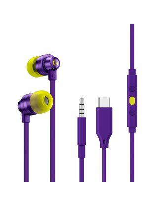 Logitech G333 Gaming Earphones - Purple