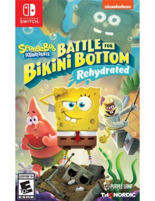 Spongebob Squarepants: Battle for Bikini Bottom, Rehydrated - Nintendo Switch R1