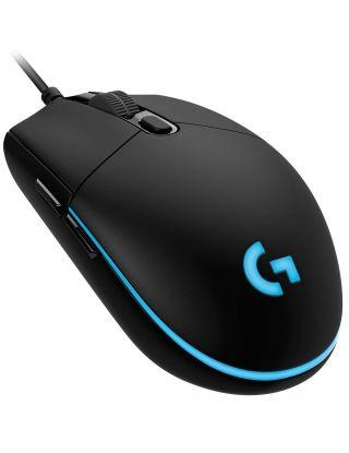 Logitech G PRO Wired Gaming Mouse, Hero 16K Sensor - Black