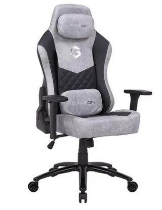 Game On Elegant Series Gaming Chair - Black/Grey