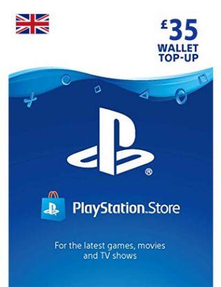 PlayStation £35 card UK Account