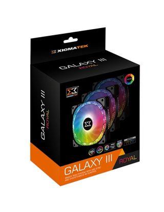 XIGMATEK ARGB Galaxy III Royal 120mm RGB  3 Fan