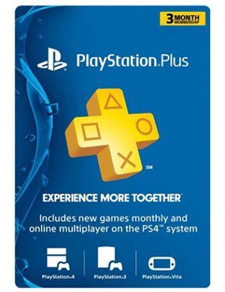 PSN Plus 3 Month Membership (U.S. Account)