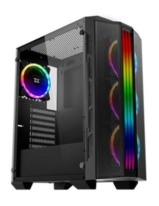 Xigmatek TRIDENT RGB Tempered Glass ATX Case